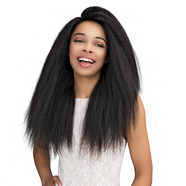 Janet Collection 100% Natural Virgin Remy Lace Wig - 360 LACE PERM STRAIGHT WIG 26""