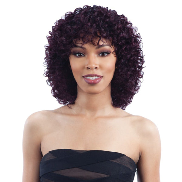 MilkyWay SAGA 100% Remy Human Hair Full Wig - PASSION DEEP