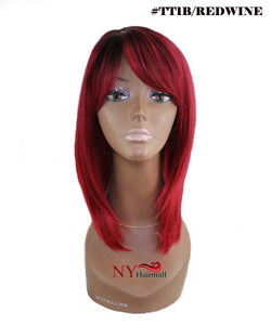 Beautician Friends Halo Coarse Hair Remi Quality Wig - Cindy