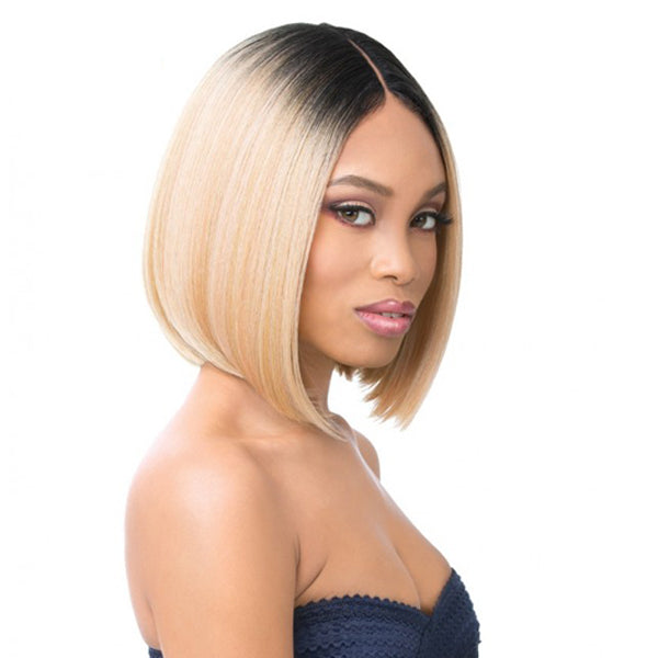 It's a wig 6 Inch Deep Lace Center Part Wig - MOON LIGHT