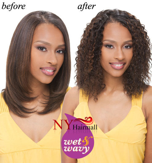 Janet Collection Indian Remy Water Deep (Wet & Wavy)