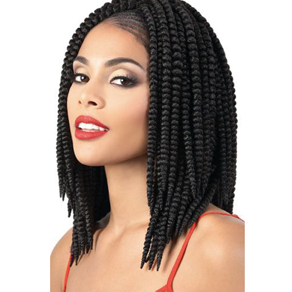 Motown Tress True 2X Pre-Looped Crochet Braid - 2X TWIZ CURL 12""