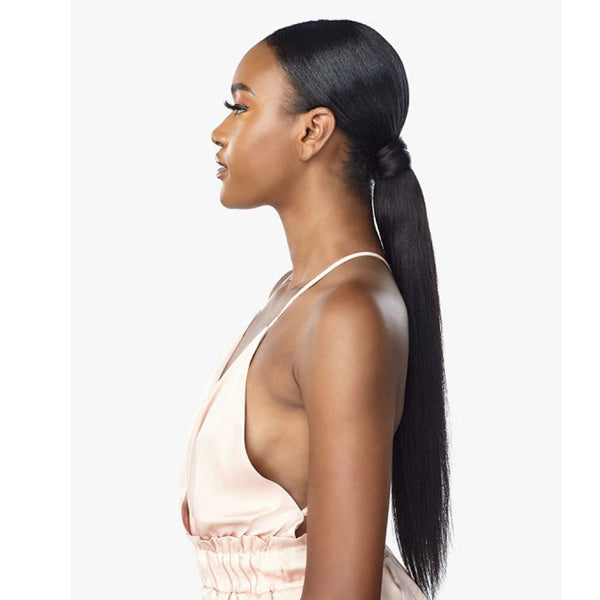 "Sensationnel 100% Human Hair Empire Pony Wrap - YAKI 16""18"""