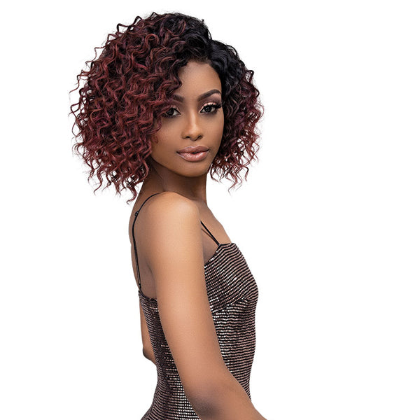 Janet Collection Synthetic Melt HD Swiss Lace Front Wig - DEJA