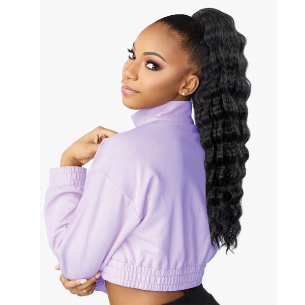 Sensationnel Instant Up & Down Pony Wrap Half wig - UD 9