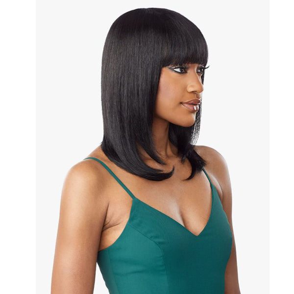 Sensationnel 10A Unprocessed Virgin Human Full Wig - STRAIGHT 18""