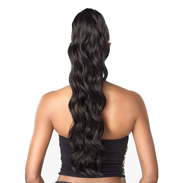 Sensationnel Synthetic instant Ponytail - OCEAN WAVE 24""
