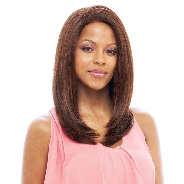 Vanessa Honey-88 Brazilian Human Blend Hand tied Whole Lace Wig - T88HB ATHENS