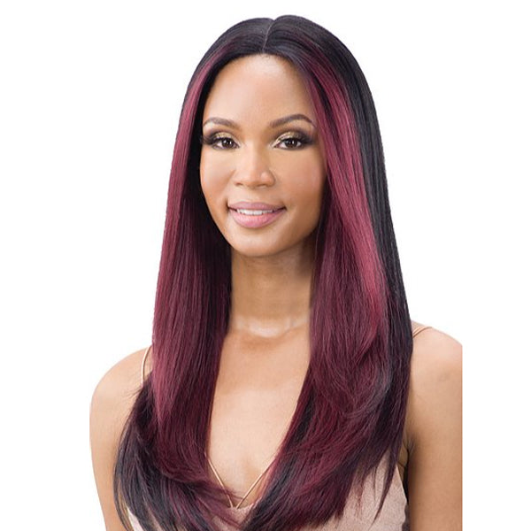 "Mayde Beauty 5"" Synthetic Lace And Lace Front Wig - NOELLE"