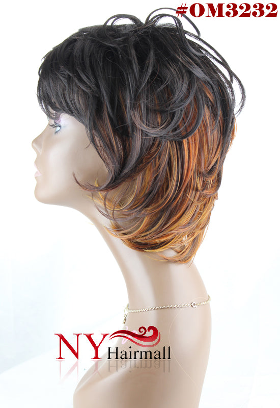 Junee Fashion Manhattan Style Wig - Shaggy