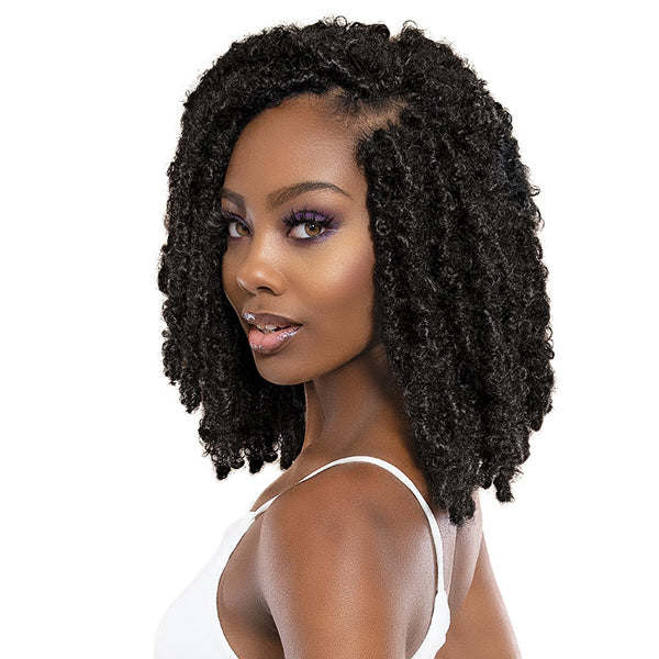 "Janet Collection Nala Tress Synthetic Hair Crochet Braid - 3X BUTTERFLY LOCS 10""12""14"""