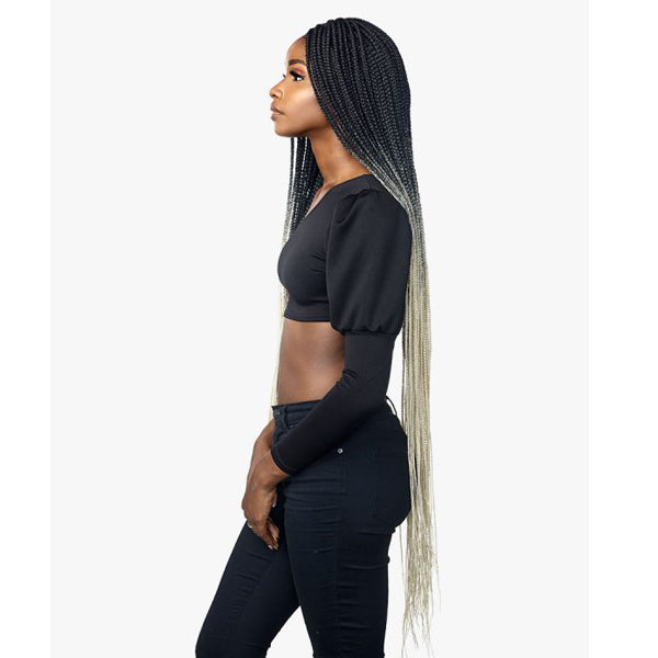 Sensationnel Cloud9 4X4 Swiss Lace Wig - BOX BRAID 50""