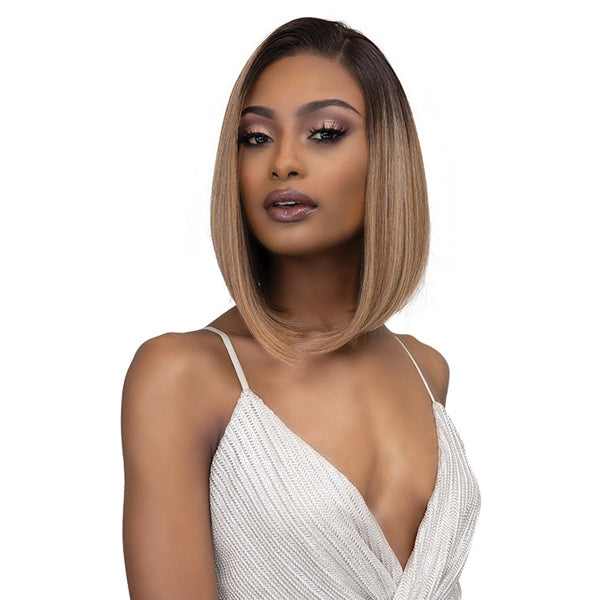 Janet Collection Synthetic Melt HD Swiss Lace Front Wig - ASIA