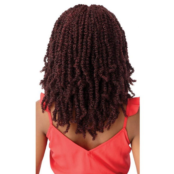 Outre X-Pression Twisted Up Lace Front Braid Wig-WAVY BOMB TWIST18""