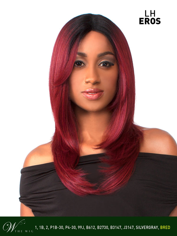 The Wig Human Hair Blend Lace Front Wig - LH Eros