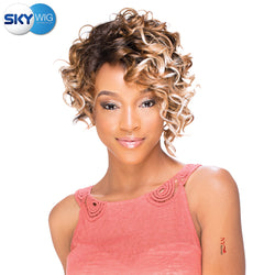 Sky Wig Synthetic Full Wig - FERRE