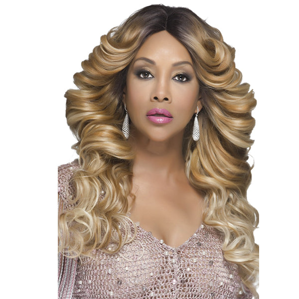 Vivica A Fox Deep Swiss Invisible Part Lace Front Wig - GLAM
