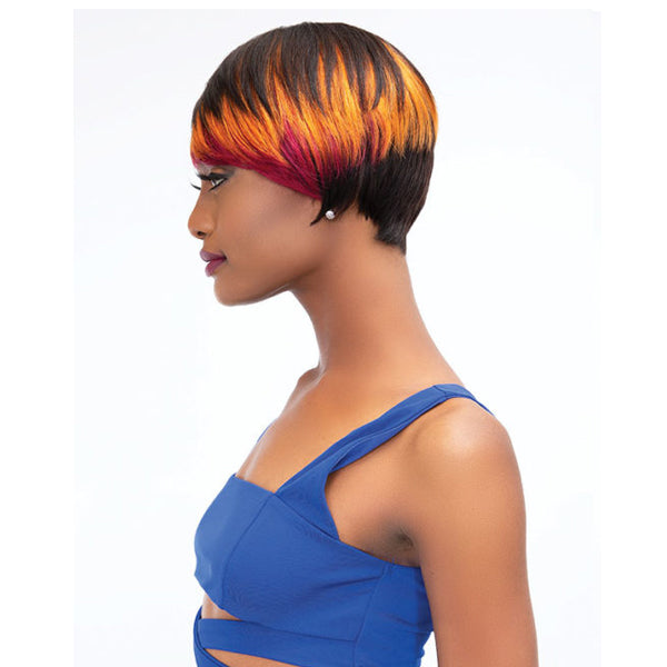 Janet Collection 100% Remy Human Hair Full Wig - BELL