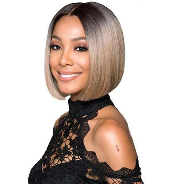 Bobbi Boss Premium Synthetic Swiss Lace Front Wig - MLF217 LYNA SLEEK