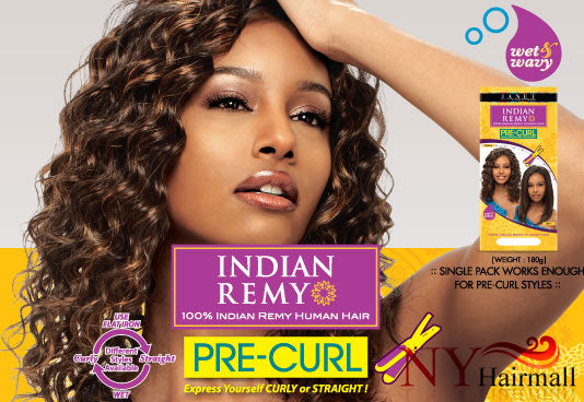 Janet Collection Indian Remy Afro Jerry WVG