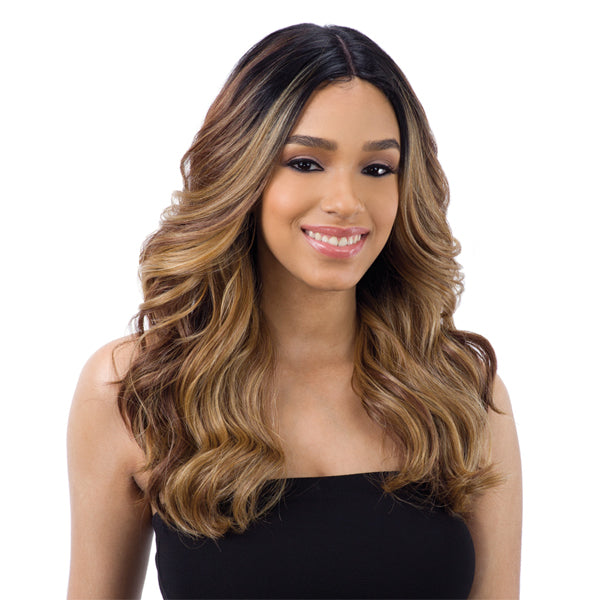 Freetress Equal 5 Inch Lace Center Part Wig - VALENTINO
