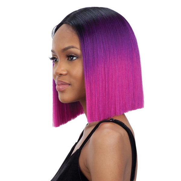 Mayde Beauty Synthetic Invisible Lace Part Wig - VIOLET