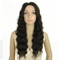 WannaBe 100% Remy Brazilian Human Lace Front Wig - FH LUNA 24