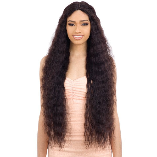 Naked 100% Human Hair Freedom Lace Part Wig - NATURAL 705