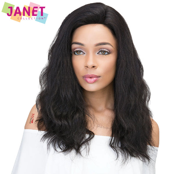 Janet Collection 100% Virgin Remy Hair Lace Front Wig - 360 LACE NATURAL WIG 22""