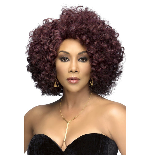 Vivica A Fox Invisible Part Swiss Lace Front Wig - ROOTS