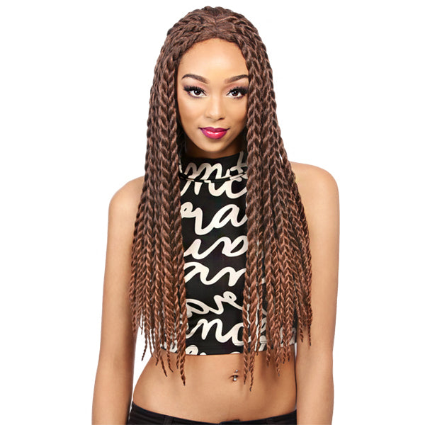It's A Wig Synthetic Braided Lace Front Wig - LACE CARIBBEAN BRAID