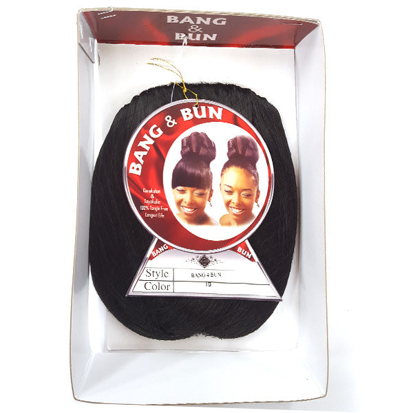 Masterpiece Bang & Bun Synthetic Hair - Bang 4 Bun (Bang Only)
