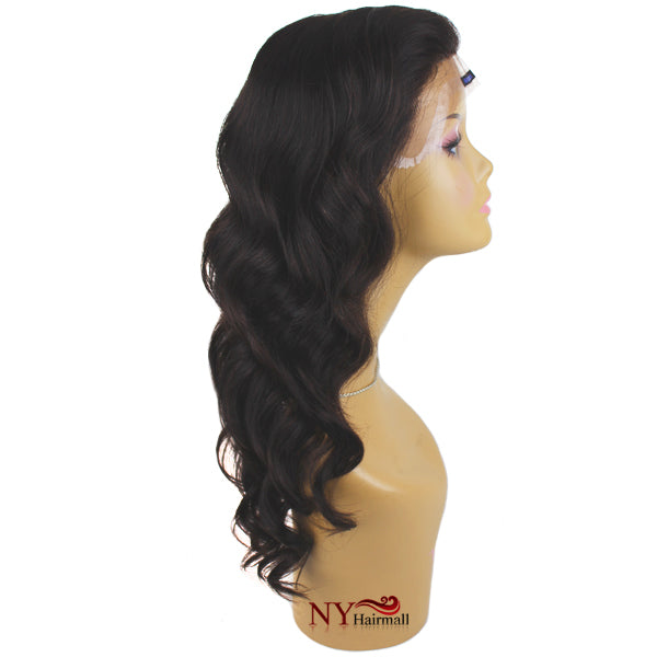 Nix & Nox Unprocessed 100% Virgin Human Hair Wide Lace Wig - HLW- Brazilian BODY Lace Wig