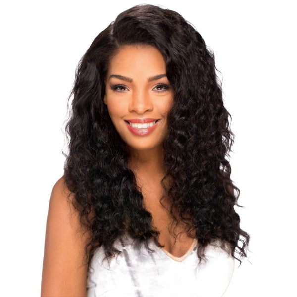 Sensual Vella Vella Remi Hair 100% Full Hand-tied Whole Lace Wig - DEEP WAVE 18""