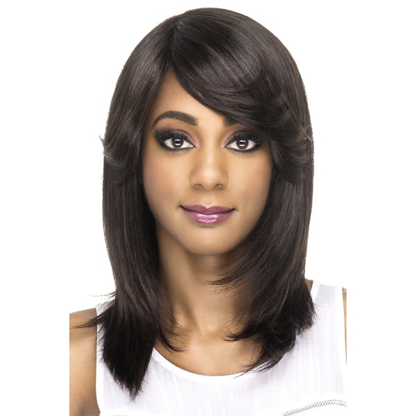Vivica A Fox 100% Natural Brazilian Remi Hair Full Wig - LUCKY