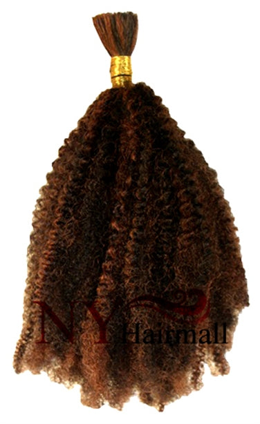 Janet Collection Human Afro Kinky Bulk 18""