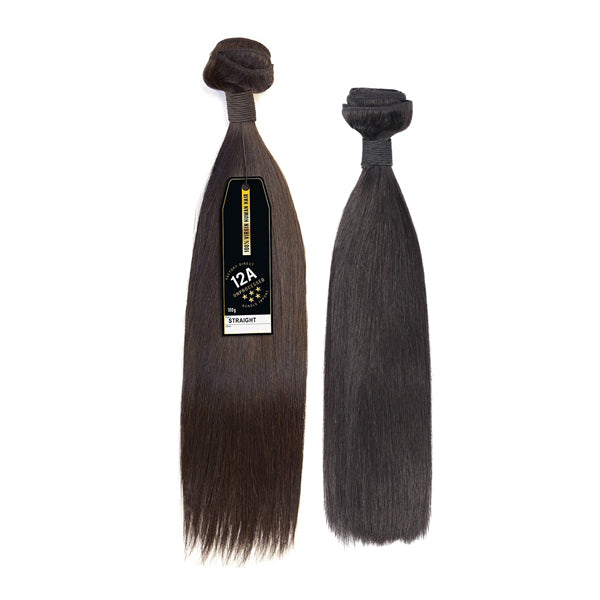 Factory Direct 100% Virgin 12A Grade Unprocessed Bundle Hair - STRAIGHT