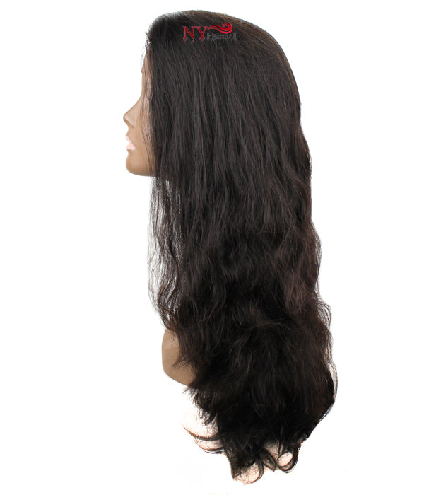 Nix & Nox Unprocessed Virgin Human Hair Wide Lace HLW - Brazilian Lace Wig