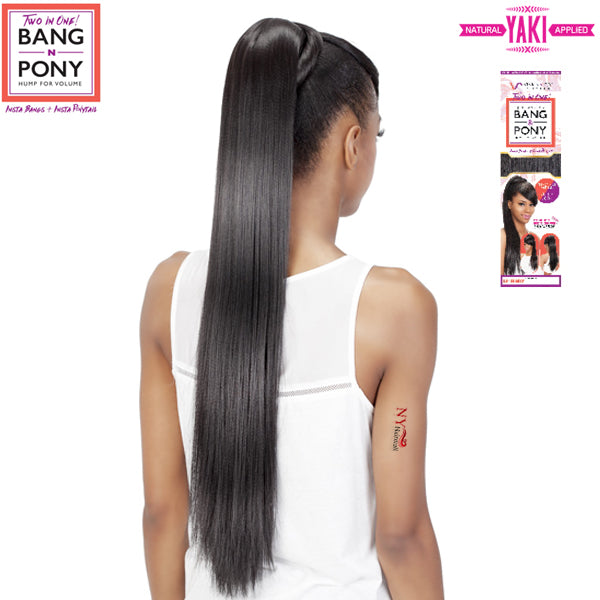Vivica Fox Synthetic Two In One Bang & Pony - BP-FENDY