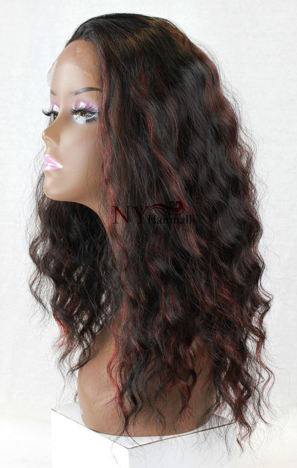 Royal Tiara Lace Front Wig Jerry (634)
