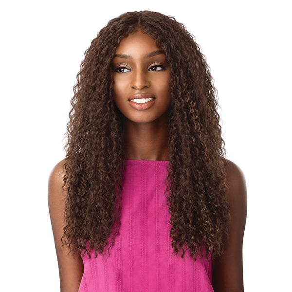 Sensationnel Empress Natural Center Part Lace Front Wig - ALANI