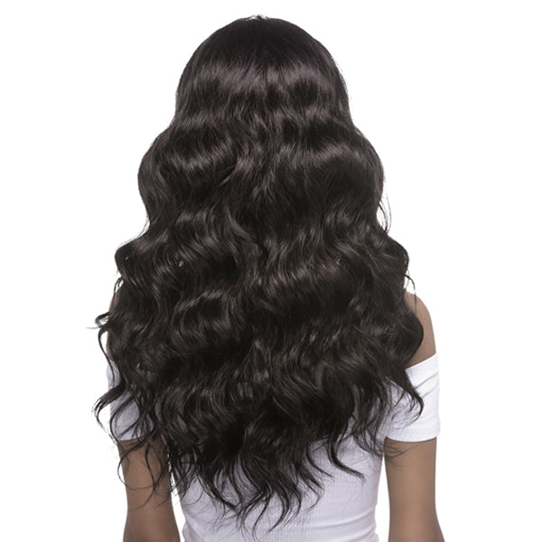 Vivica A Fox Synthetic Hair Invisible Part Swiss Lace Front Wig - ARIEL