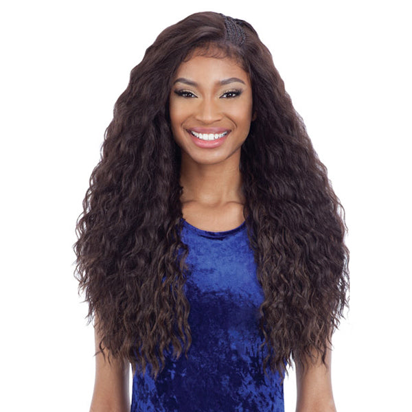 Freetress Equal Braided Edge Frontal Lace Front Wig - BLW - 001