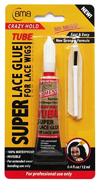 BMB Super Lace Glue Crazy Hold Tube - 0.4 Fl. Oz. (11.8 mL)