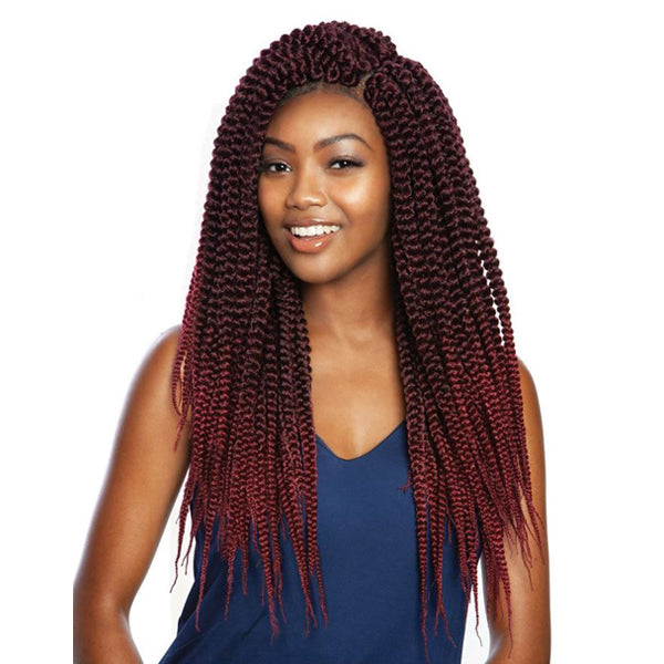 ISIS Afri-Naptural Crochet Loop Braid - TWB308 3X PRE-STRETCHED MEGA BOX BRAID 20""