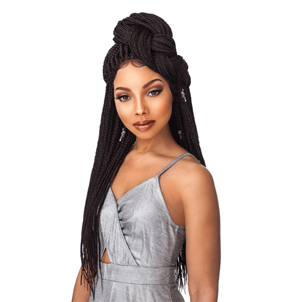 Sensationnel Cloud9 4X4 Multi Parting Swiss Lace Wig - BOX BRAID SMALL