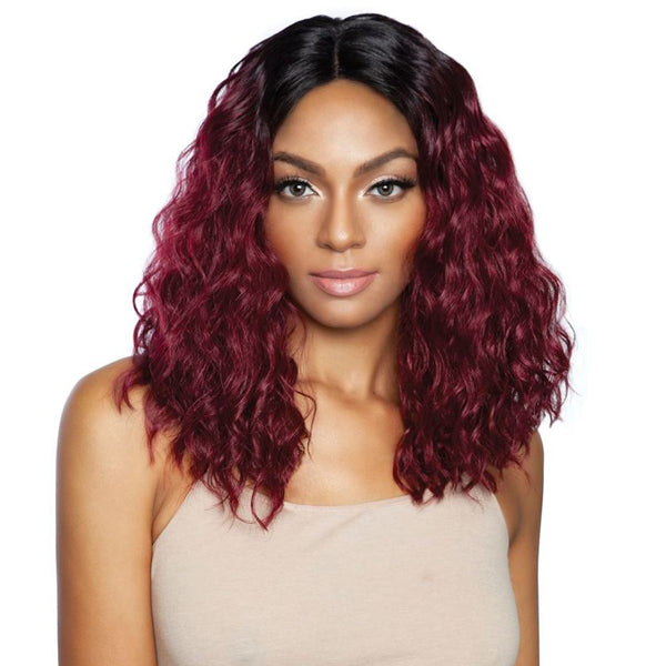 ISIS Mane Concept Brown Sugar Human Blend Lace Part Full Wig - BS145