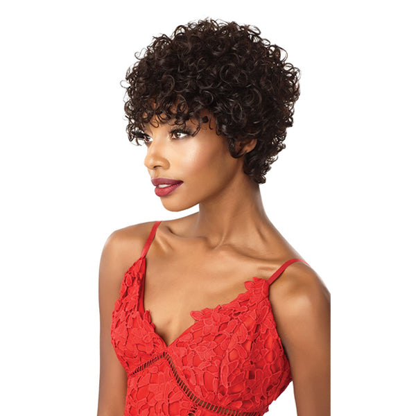 Outre Fab & Fly 100% Unprocessed Human Hair Full Wig - HH CLARICE