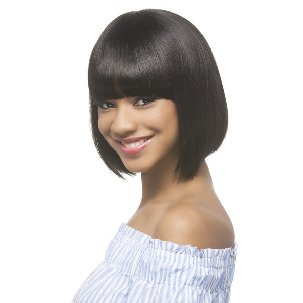 Vivica A Fox 100% Brazilian Natural Remi Human Hair Full Wig - COCO