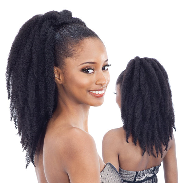Freetress Equal Synthetic Drawstring Ponytail - Cuban Girl 16""